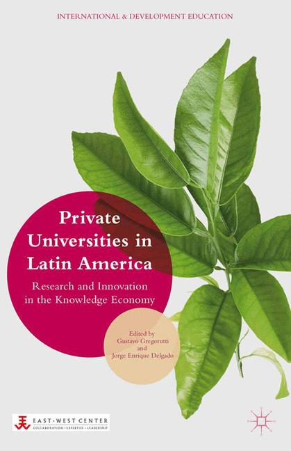 Cover of 'Private Universities in Latin America'