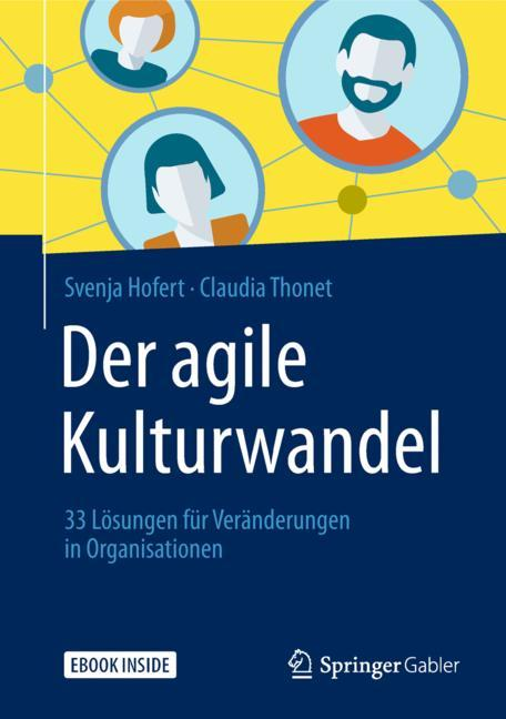 Cover of 'Der agile Kulturwandel'