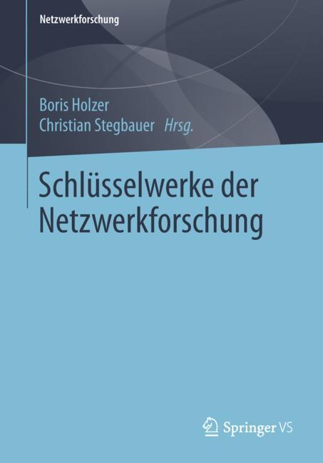 Cover of 'Schlüsselwerke der Netzwerkforschung'