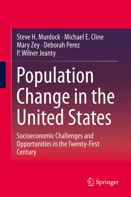 Cover of 'Population Change in the United States'