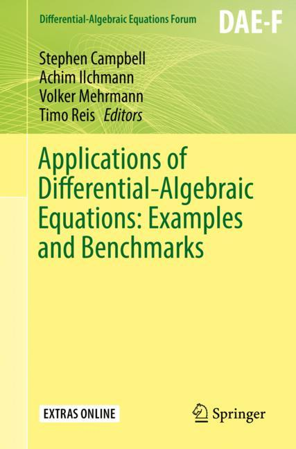 Cover of 'Applications of Differential-Algebraic Equations: Examples and Benchmarks'