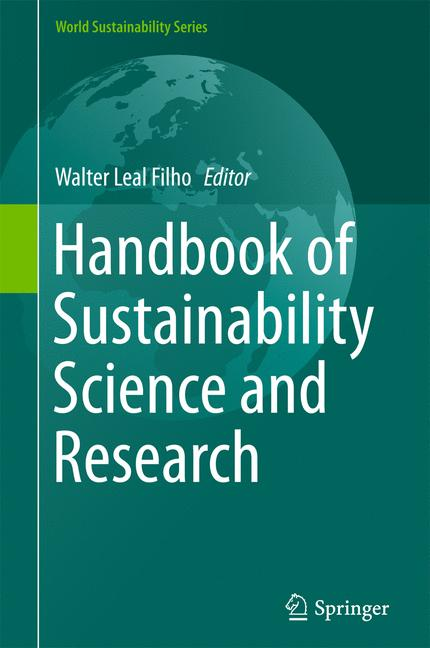Cover of 'Handbook of Sustainability Science and Research'