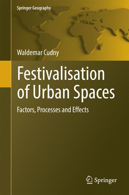 Cover of 'Festivalisation of Urban Spaces'