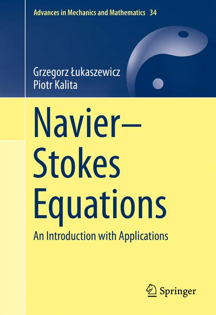 Cover of 'Navier–Stokes Equations'