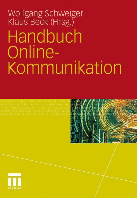 Cover of 'Handbuch Online-Kommunikation'