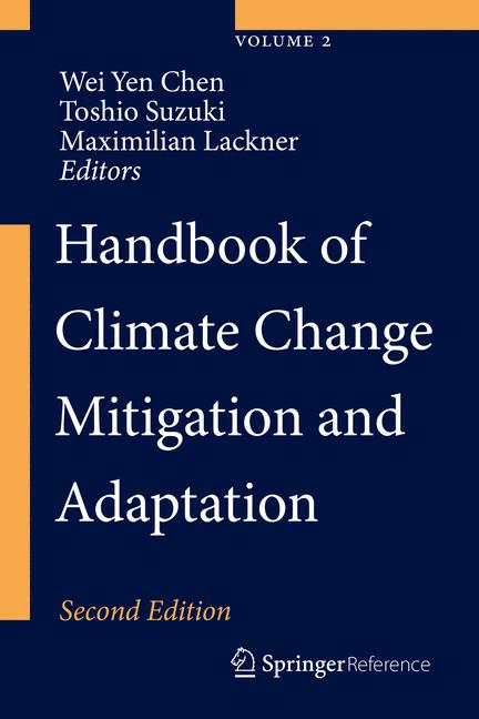 Cover of 'Handbook of Climate Change Mitigation and Adaptation'