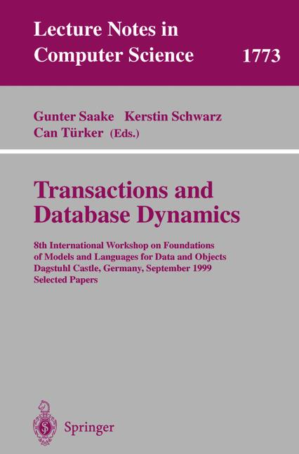 Cover of 'Transactions and Database Dynamics'