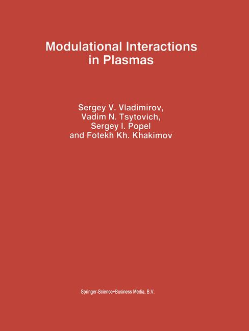 Cover of 'Modulational Interactions in Plasmas'