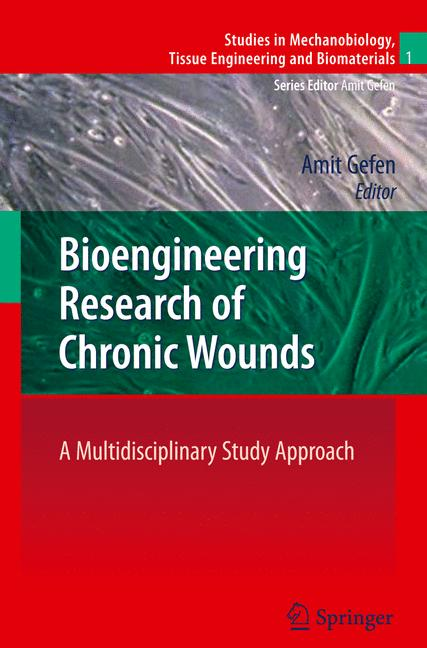 Cover of 'Bioengineering Research of Chronic Wounds'