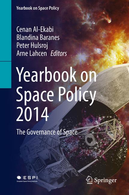Cover of 'Yearbook on Space Policy 2014'