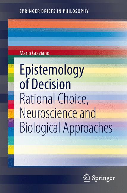Cover of 'Epistemology of Decision'