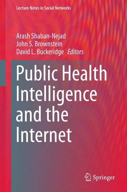 Cover of 'Public Health Intelligence and the Internet'