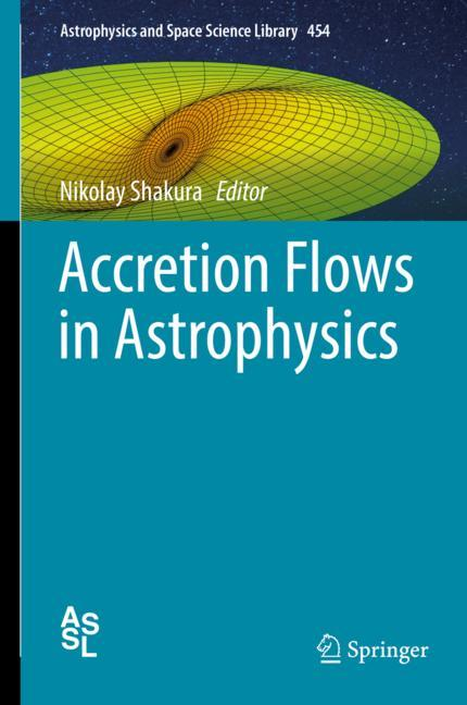 Cover of 'Accretion Flows in Astrophysics'