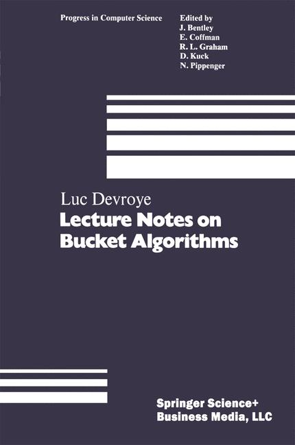 Cover of 'Lecture notes on bucket algorithms'