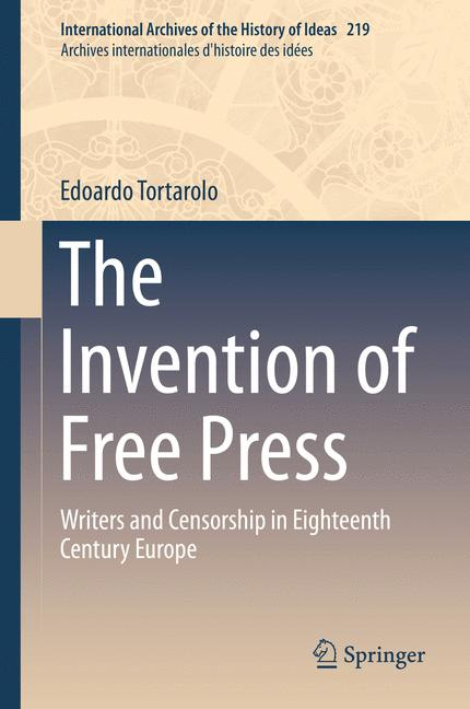 Cover of 'The Invention of Free Press'