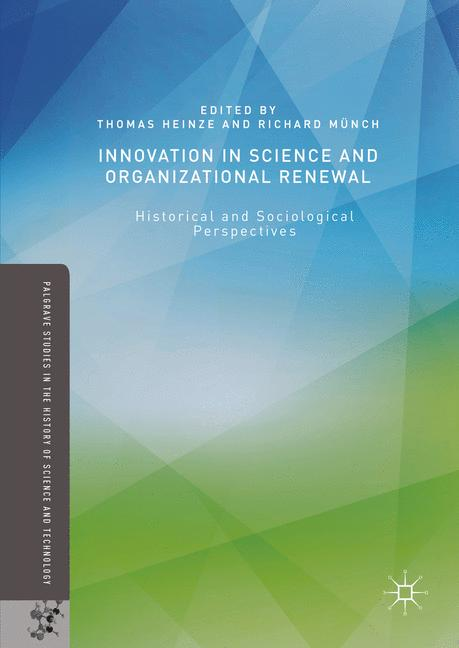 Cover of 'Innovation in Science and Organizational Renewal'