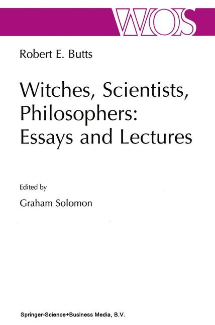 Cover of 'Witches, Scientists, Philosophers: Essays and Lectures'