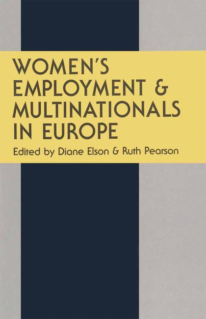 Cover of 'Women's Employment and Multinationals in Europe'