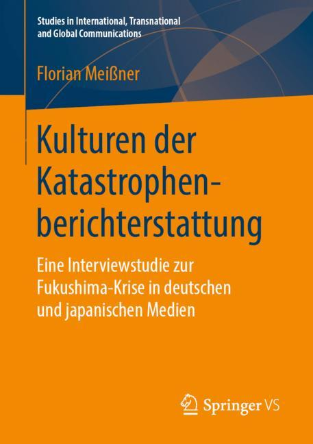 Cover of 'Kulturen der Katastrophenberichterstattung'