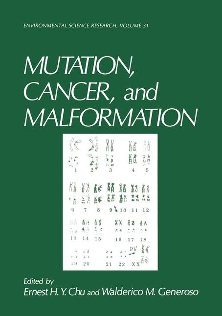 Cover of 'Mutation, Cancer, and Malformation'