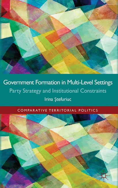 Cover of 'Government formation in Multi-Level Settings'