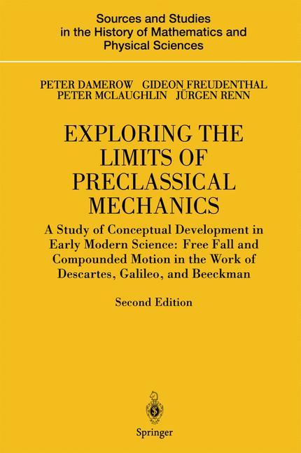 Cover of 'Exploring the Limits of Preclassical Mechanics'