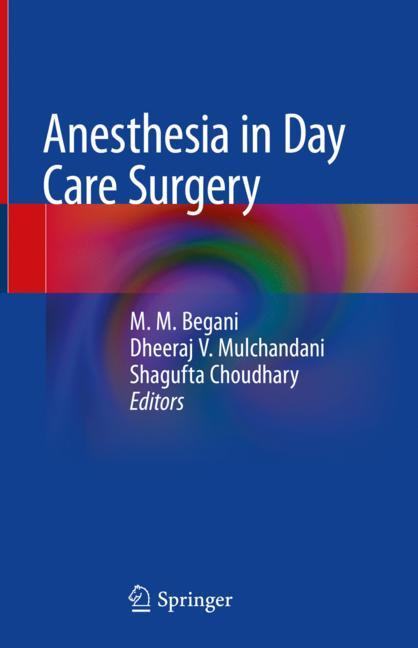 Cover of 'Anesthesia in Day Care Surgery'