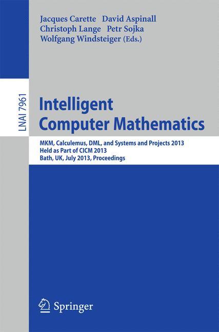 Cover of 'Intelligent Computer Mathematics'