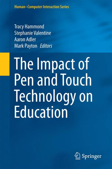 Cover of 'The Impact of Pen and Touch Technology on Education'