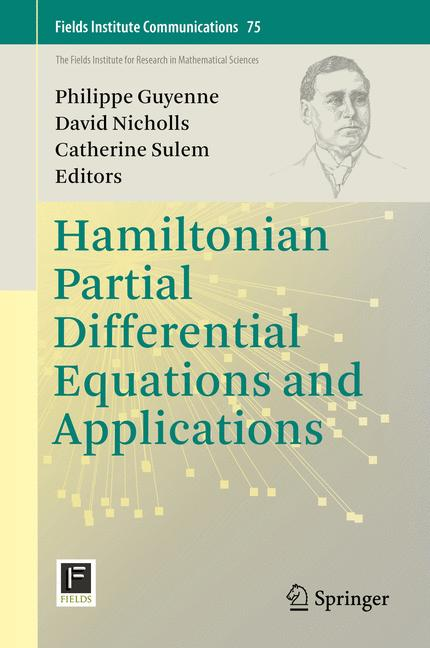 Cover of 'Hamiltonian Partial Differential Equations and Applications'