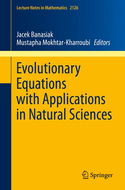 Cover of 'Evolutionary Equations with Applications in Natural Sciences'