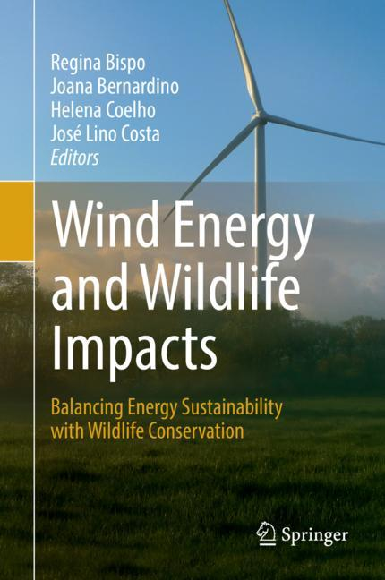 Cover of 'Wind Energy and Wildlife Impacts'
