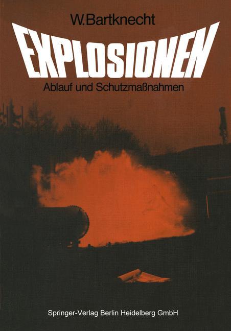 Cover of 'Explosionen'
