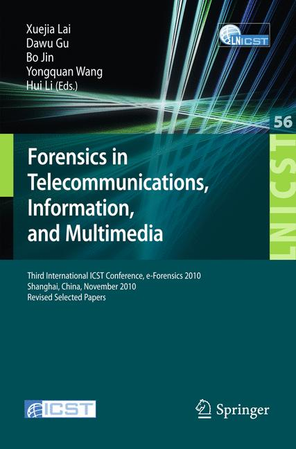 Cover of 'Forensics in Telecommunications, Information, and Multimedia'