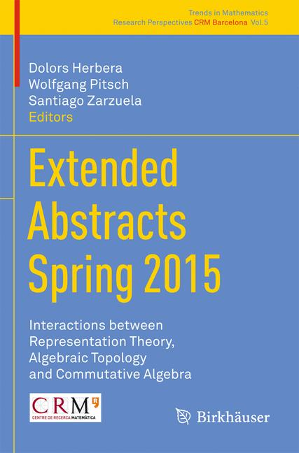 Cover of 'Extended Abstracts Spring 2015'