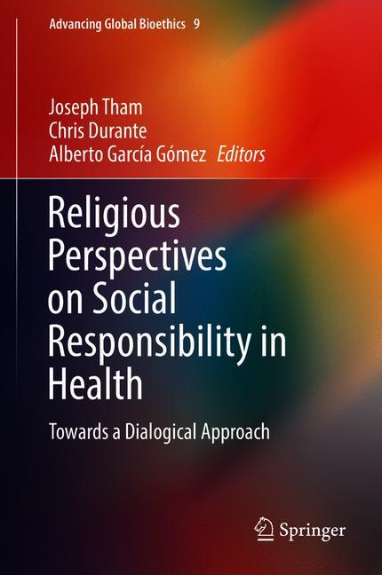 Cover of 'Religious Perspectives on Social Responsibility in Health'