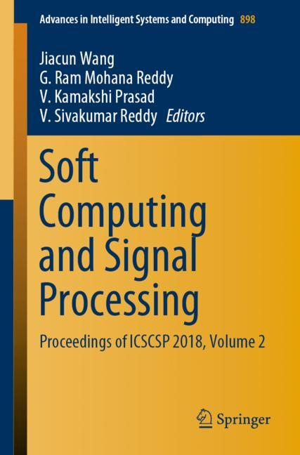 Cover of 'Soft Computing and Signal Processing'