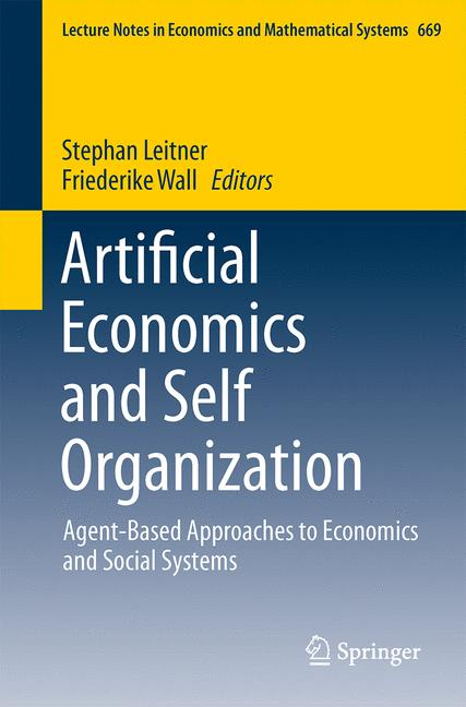 Cover of 'Artificial Economics and Self Organization'