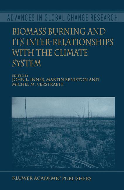 Cover of 'Biomass Burning and Its Inter-Relationships with the Climate System'