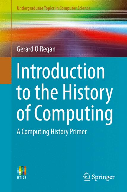 Cover of 'Introduction to the History of Computing'