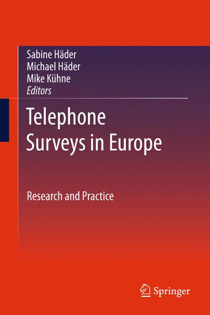 Cover of 'Telephone Surveys in Europe'