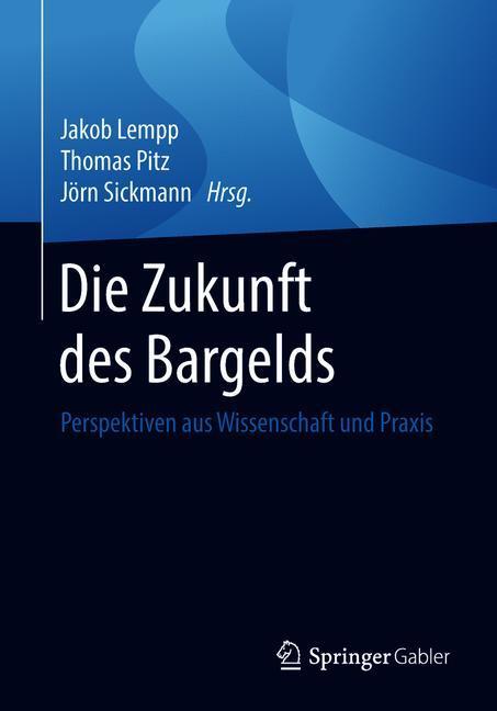 Cover of 'Die Zukunft des Bargelds'