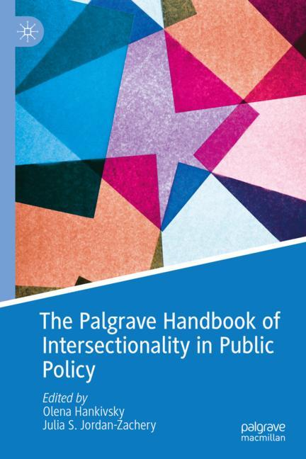 Cover of 'The Palgrave Handbook of Intersectionality in Public Policy'