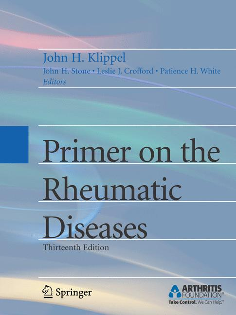 Cover of 'Primer on the Rheumatic Diseases'