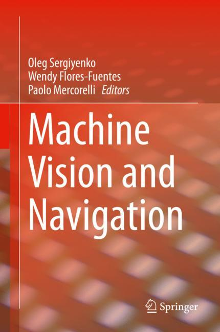 Cover of 'Machine Vision and Navigation'