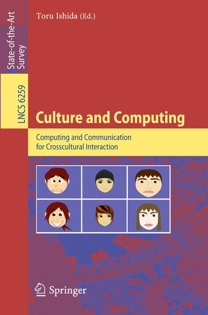 Cover of 'Culture and Computing'