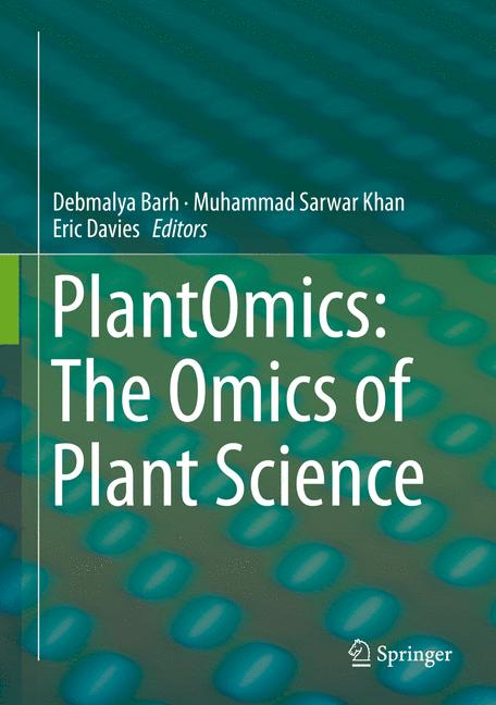 Cover of 'PlantOmics: The Omics of Plant Science'