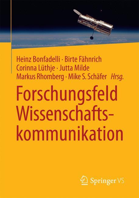 Cover of 'Forschungsfeld Wissenschaftskommunikation'