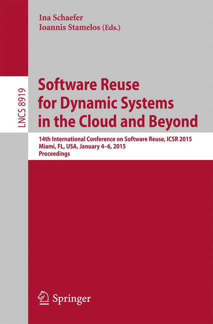Cover of 'Software Reuse for Dynamic Systems in the Cloud and Beyond'