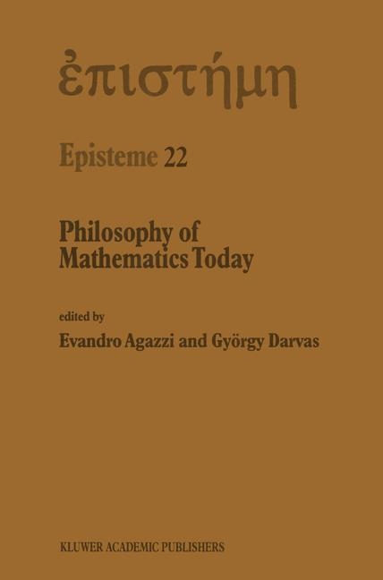 Cover of 'Philosophy of Mathematics Today'